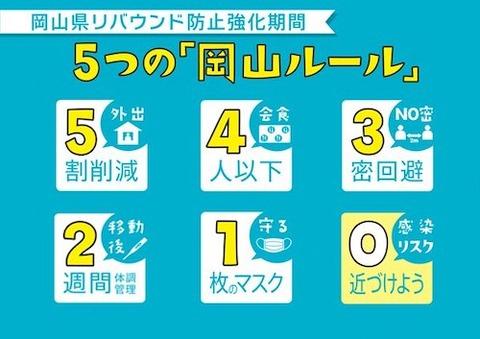 5つの岡山ルールs