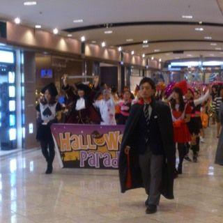 岡山駅前 一番街 ハロウィンパレード01
