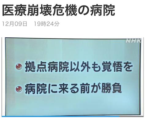 岡山 津山 医療崩壊危機の病院00