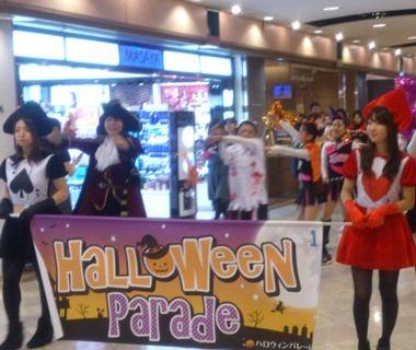岡山駅前 一番街 ハロウィンパレード02