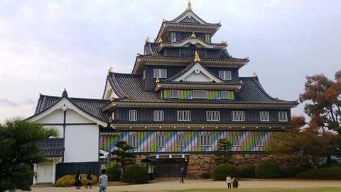 岡山城 ポップDSC_1946 のコピー