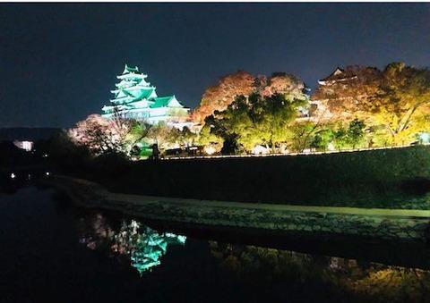 2018  秋の岡山城
