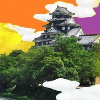 岡山空襲の痕跡を写真