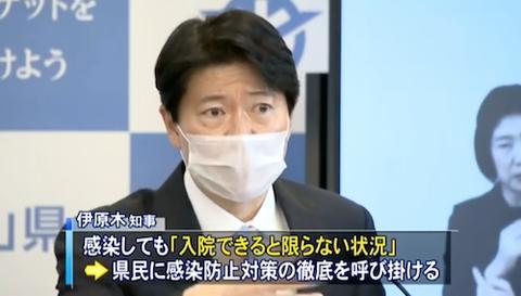 岡山医療非常事態宣言 2020-12-21
