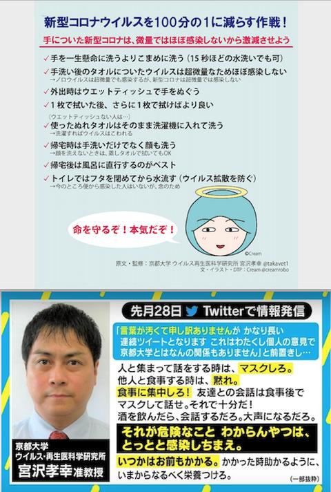 京都大ウイルス 再生医科学研究所の宮沢孝幸准教授