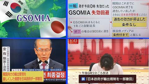 GISOMIA  韓国騒動(米国激怒編)
