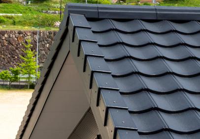 屋根材 瓦 スレート ガルバリウム鋼鈑