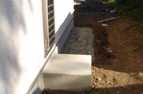 土間コンクリート DIY