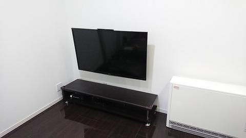 DIY壁掛けテレビ2