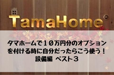 タマホームオプション_10万円_おすすめ