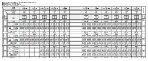 タマホーム オプション_サイズ表