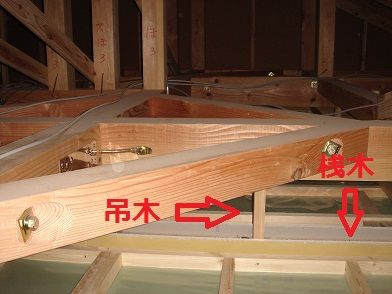 tamahome ブログ 内装 天井下地 プラスターボード