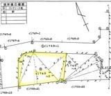 上新町中古住宅測量図トリミング