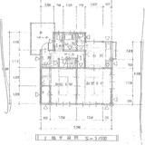 直井邸1階平面図