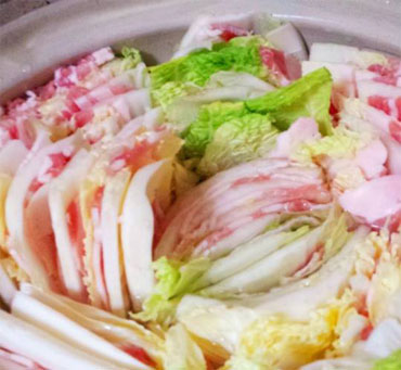 豚バラと白菜
