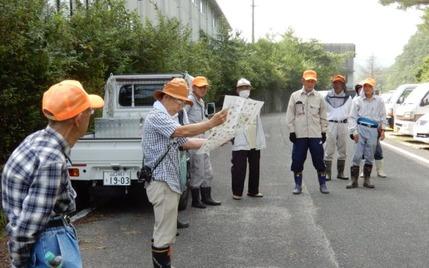 200805 山野草のエキ作業中 (2)