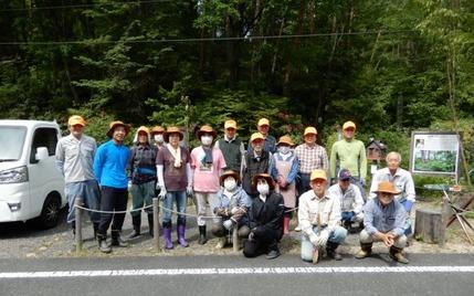 200603 山野草のエキ ボランティア (1)