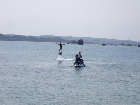 Flyboard(水上飛板)!
