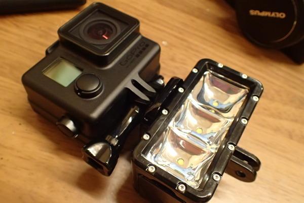 Sup Tip waterproof video light