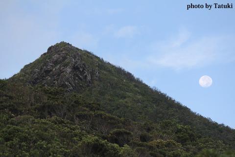 嘉津宇岳と満月