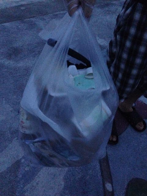 沖縄でゴミ拾いした結果