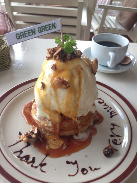 GREEN GREENの巨大アップルパイ