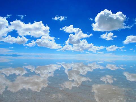 世界一周にウユニ塩湖