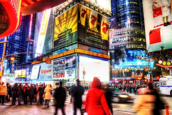 映画でよくみるニューヨークの夜