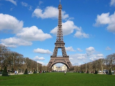 エッフェル塔の景色