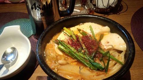 ピリ辛 スン豆腐
