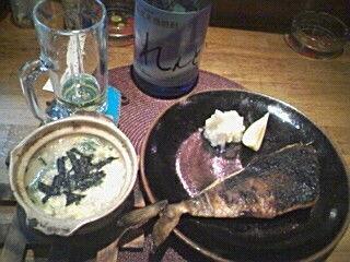 和風雑炊とホッケ