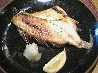 つぼ鯛塩焼き