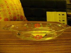 """""""鳴海製陶""""ガラスグラタン皿 *"""
