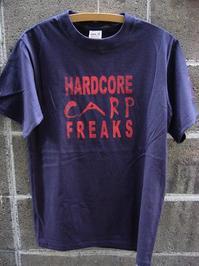 HARDCORE CARP FREAKS Tシャツ 【NV】