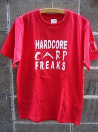 HARDCORE CARP FREAKS Tシャツ 【RD】