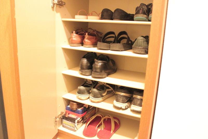 2015年11月の靴箱の中身