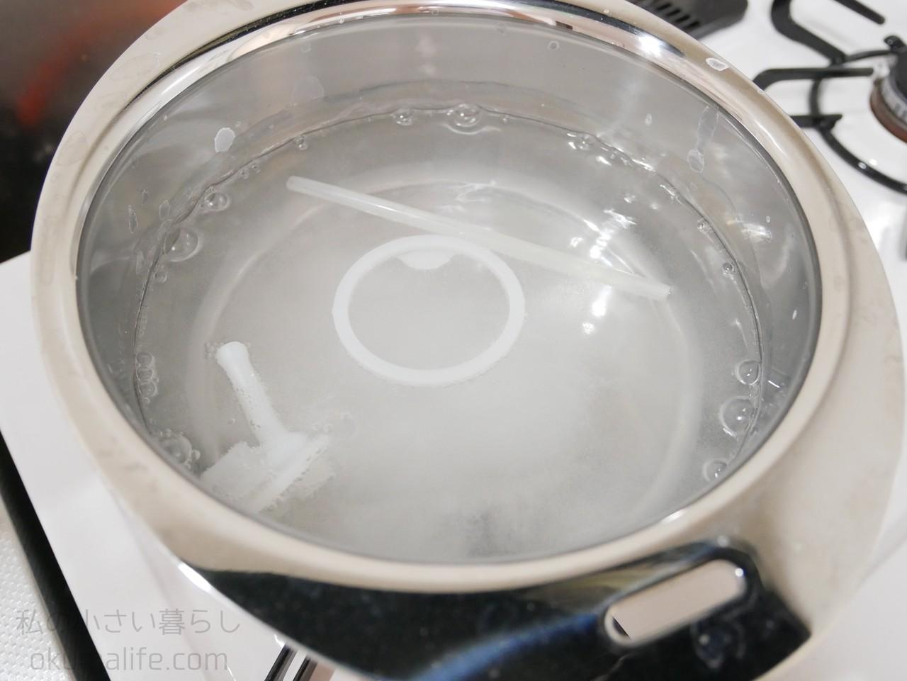 茶渋 クエン 酸