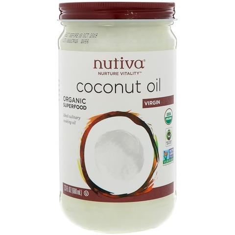 Nutiva オーガニックココナッツオイル
