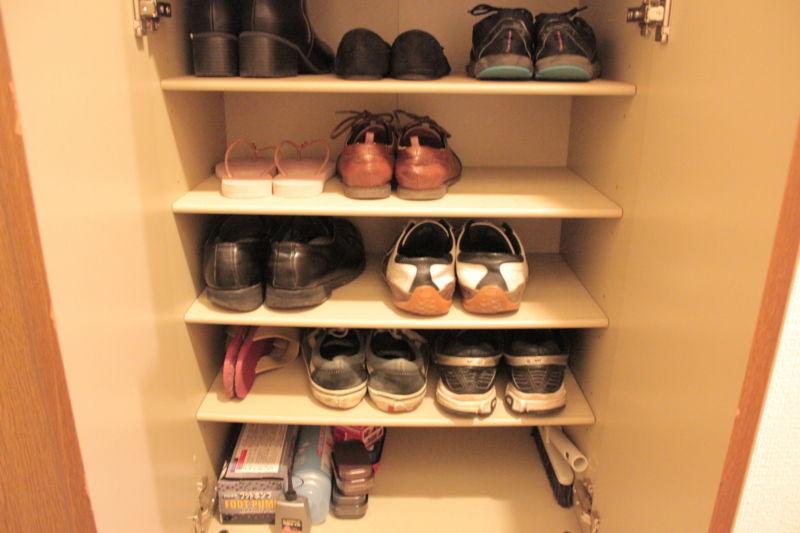 2016年4月の靴箱の中身