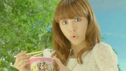 スープはるさめ CM 桐谷美玲