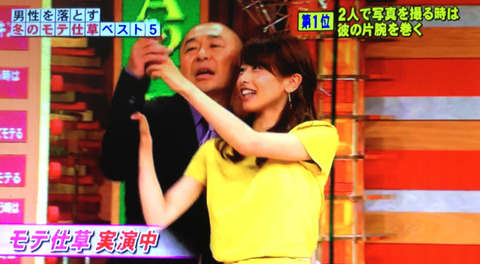 カトパン 加藤綾子 アナ 剛力彩芽 モテしぐさ ホンマでっか