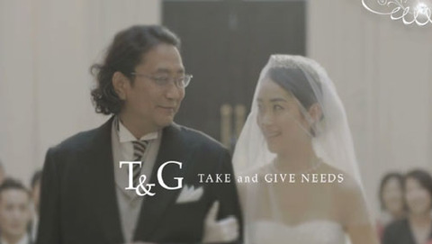 T&G CM 初音映莉子 One Heart Wedding ブラザートム
