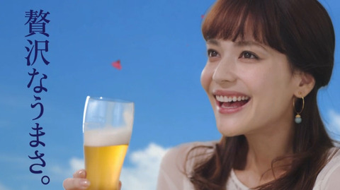 仲間リサ オリオンビール いちばん桜のCM12