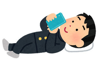 smartphone_neru_schoolboy