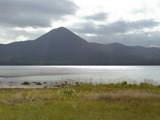 恐山の隣の湖