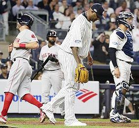 ヤンキース負ける