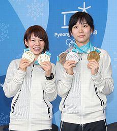 メダルだらけの高木姉妹