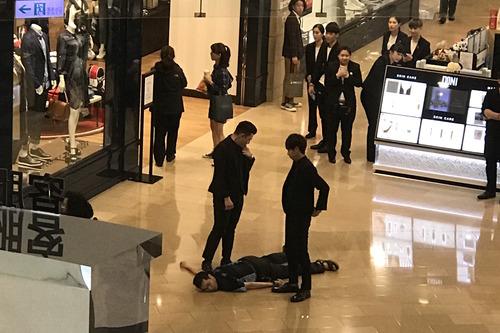 台北101 酔拳男