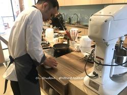 台湾料理研究所 小籠包  皮作り1