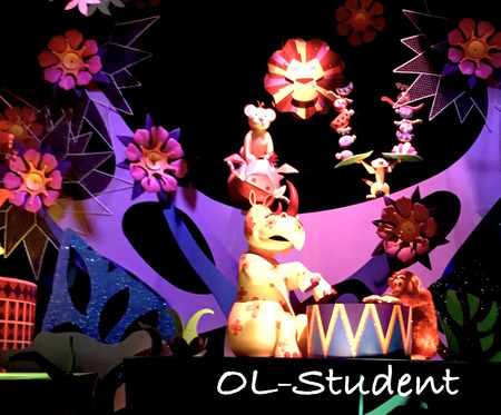 HKDL It's a small world アフリカ シンバ